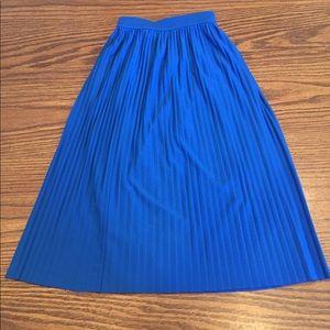 Beautiful blue skirt!